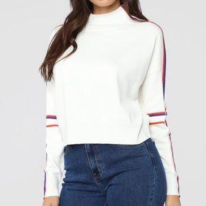 Fashion Nova stripe sweater